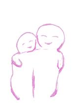 arm om schouder